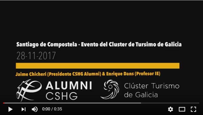 CLAUSURA PLAN FORMATIVO DEL CLÚSTER DE TURISMO DE GALICIA