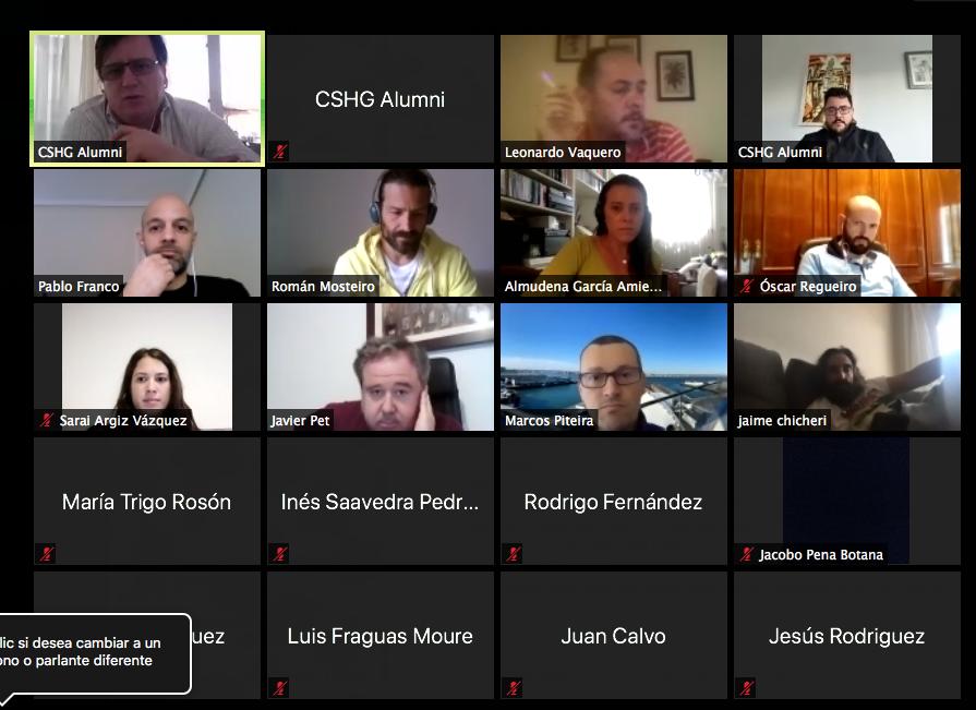 Encuentro Virtual CSHG Alumni con Alumnos, Antiguos Alumnos y Profesores del CSHG